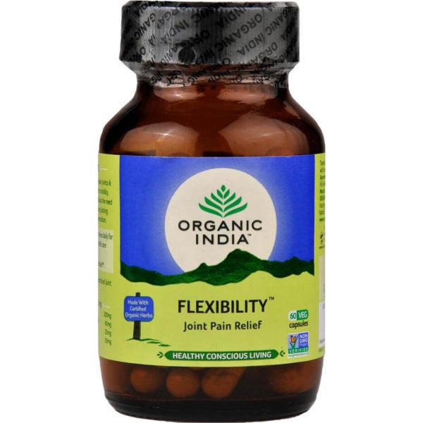Flexibility kapsle od Organic India